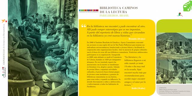 notícia pclilj participantes da Biblioteca Caminhos da Leitura