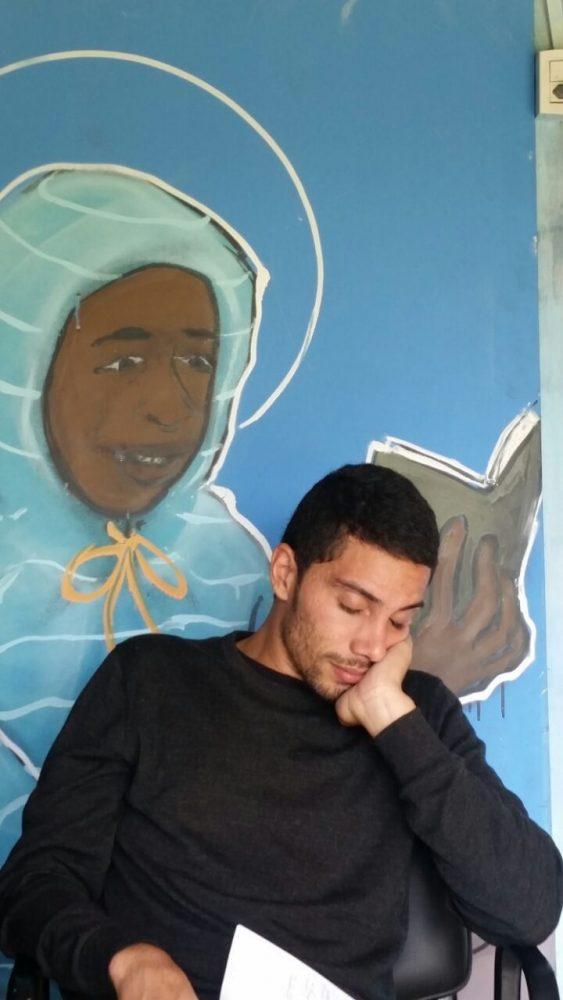 Rafael Simões é jovem gestor e mediador de leitura da BC caminhos da Leitura.
