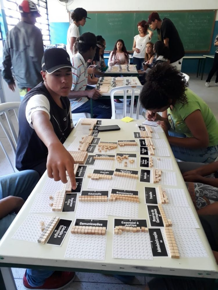 Jogo da Politica - Escola Lucas Roschel Rasquinho