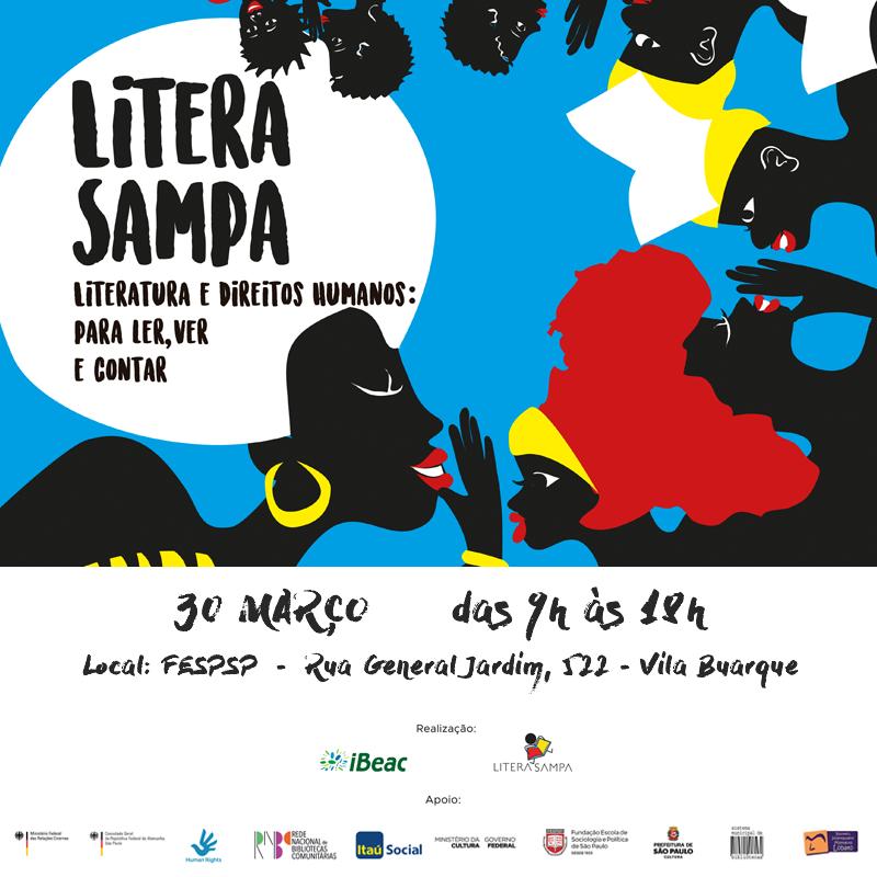 Literatura e Direitos Humanos: para ler, ver e contar – Seminário LiteraSampa