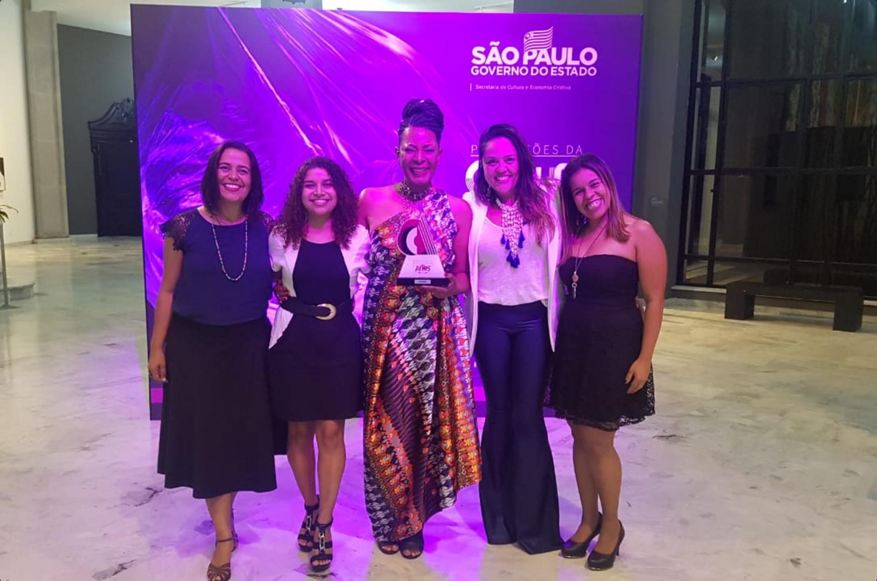 Prêmio Estado de São Paulo para as Artes 2019 – Bel Santos Mayer