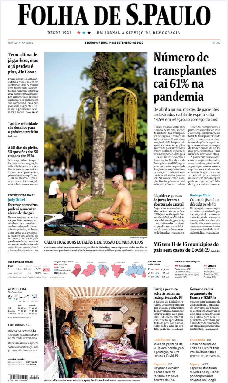 Mães da periferia de SP levam poesia, pão e proteção na luta contra a Covid-19. Folha de S.Paulo