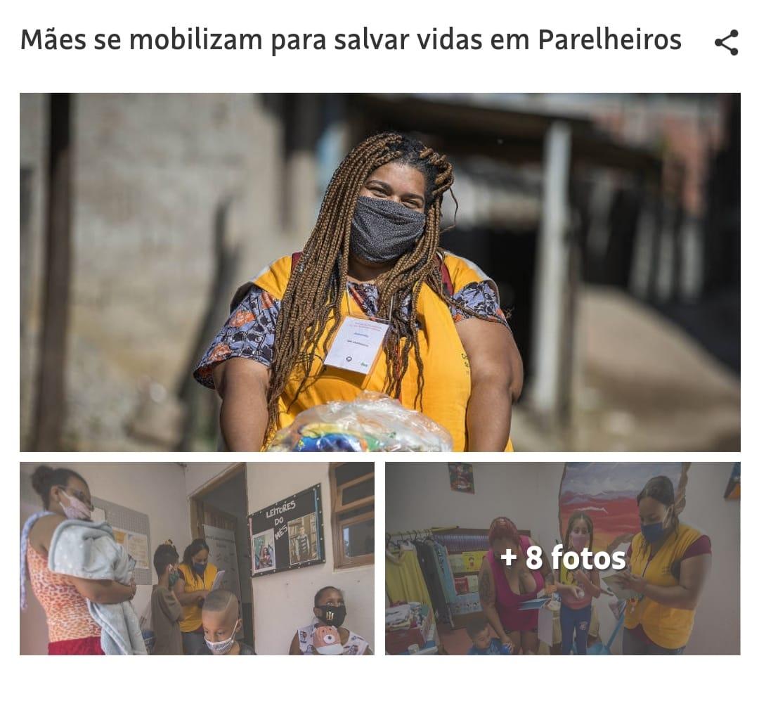 Mães se mobilizam para salvar vidas em Parelheiros. Folha de S.Paulo